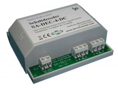 Littfinski 210213 SA-DEC-4-DC-G 4fach Schaltartikeldecoder DCC NEUWARE