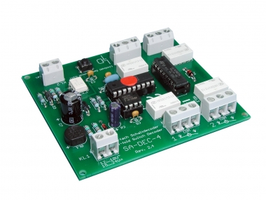 Littfinski 210312 SA-DEC-4-MM-F 4fach Schaltartikeldecoder Motorola NEUWARE