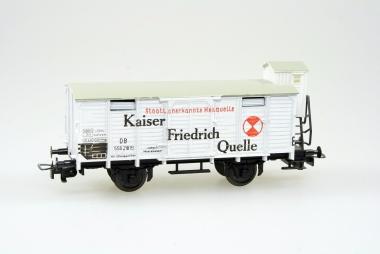 Liliput 21800 Güterwagen KAISER FRIEDRICH QUELLE der DB in Originalverpackung