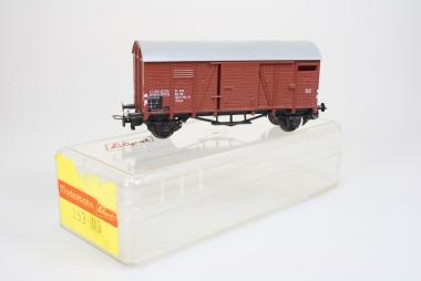 Liliput 25303 gedeckter Güterwagen Glms der DB Top Zustand in Originalverpackung