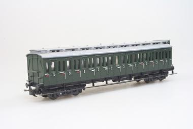 Liliput 290/3 Personenwagen Abteilwagen 3. Klasse in H0 für Wechselstrom