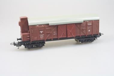 Lima 303105 gedeckter Güterwagen der SNCF in H0 Schlusslichter ohne Kontakte