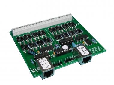 Littfinski 320101 RM-GB-8-N-B 8fach Rückmeldemodul m.Gleisbesetztmeldung Neuware