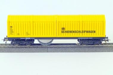 Lux 9131 Schienenschleifwagen für Gleichstrom m. SSF-09 analog+digital Fabrikneu