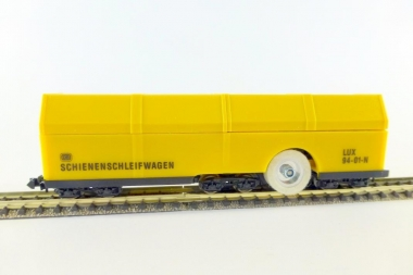 Lux 9470 Schienenschleifwagen für alle N-Gleise SSF-09 analog+digital Fabrikneu