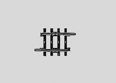 Märklin 2203 K-Gleis gerade Länge 1/6 30 mm H0 Fabrikneu