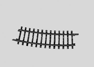 Märklin 2224 K-Gleis gebogen Länge 1//4 = 7° 30/' H0 Fabrikneu