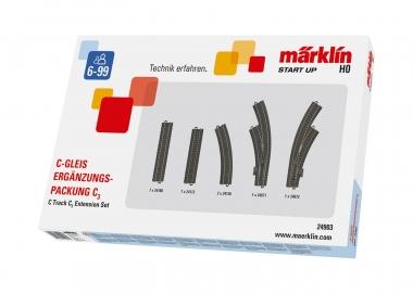 Märklin 24903 C Track C3 Track Extension Set H0 new