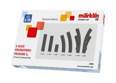 Märklin 24904 C-Gleis Ergänzungspackung C4 H0 Fabrikneu