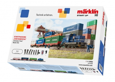 Märklin 29452 Start up - Startpackung Containerzug digital C-Gleis H0 Fabrikneu