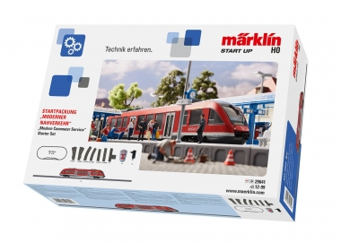 Märklin 29641 Start up - Startpackung Moderner Nahverkehr digital H0 Fabrikneu