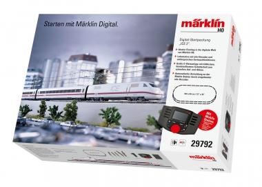 Märklin 29792 Digital-Startpackung ICE 2 mfx mit C-Gleis und MS2 in H0 Fabrikneu
