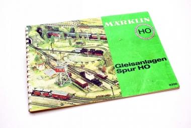 Märklin 0350 Gleisanlagen M-Gleis Heft Gleisplanheft in H0