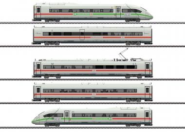 Märklin 39716 Triebwagenzug ICE 4 Br. 412 mit grünem Streifen H0 mfx+ Fabrikneu