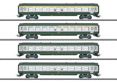 Märklin 40691 Französisches Schnellzugwagen-Set Tin Plate 4-teilig H0 Fabrikneu