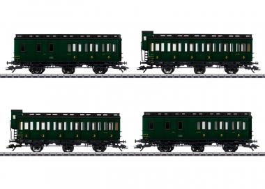 Märklin 42042 Abteilwagen-Set 4-teilig der SNCF in H0 Fabrikneu