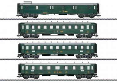 Märklin 42388 Schweizer Oldtimer-Personenwagenset der SBB in H0 Fabrikneu