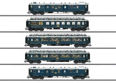 """Märklin 42790 Schnellzugwagen-Set 1 """"Simplon-Orient-Express"""" in H0 Fabrikneu"""
