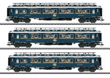 """Märklin 42791 Schnellzugwagen-Set 2 """"Simplon-Orient-Express"""" in H0 Fabrikneu"""