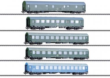 """Märklin 42982 Reisezugwagen-Set """"Deutsche Reichsbahn der DDR"""" in H0 Fabrikneu"""