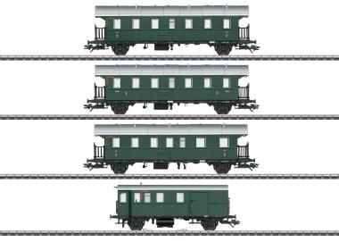 Märklin 43146 Personenwagen-Set mit Steuerwagen LED-Beleuchtung DB H0 Fabrikneu