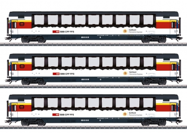 "Märklin 43650 Schnellzugwagen-Set ""Gotthard Panorama Express"" in H0 Fabrikneu"