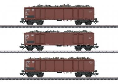Märklin 46914 Güterwagen-Set Eaos 106 MHI in H0 Fabrikneu