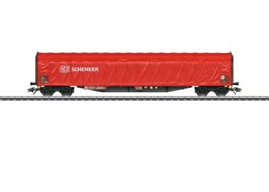 Märklin 47105 Type Rils 652 Sliding Tarp Car DB H0 boxed