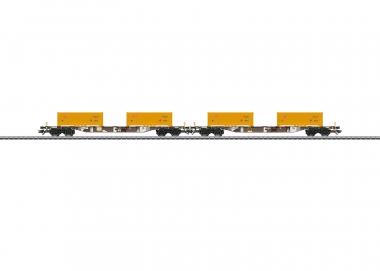 "Märklin 47130 ""Soil Excavation Stuttgart 21"" Container Transport Carset H0 boxed"
