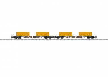 "Märklin 4713 ""Soil Excavation Stuttgart 21"" Container Transport Carset H0 boxed"