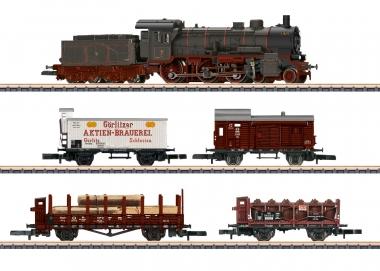 Märklin 81302 miniclub Zugpackung Länderbahn Güterzug der K.P.E.V. Z Fabrikneu