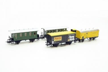 Märklin brillante Sammlung Personenwagen und Güterwagen