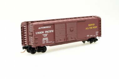 Microtrains Line 07800030 50' Auto Box Car Doible Side Doors UP Spur N NEUWARE