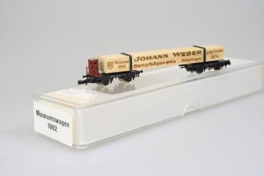 Märklin Miniclub Museumswagen 1992 Johann Weber unbespielt in Originalverpackung