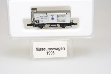 Märklin Miniclub Museumswagen 1996 Papierfabrik Salach unbespielt