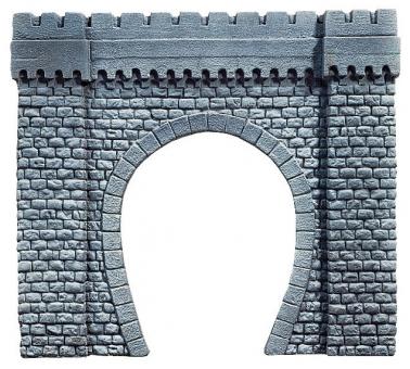 Noch 67350 Tunnel-Portal, 1-gleisig, 44 x 37 cm Spur G in Originalverpackung