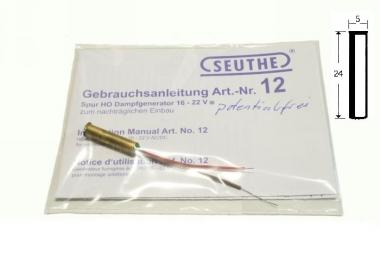 Seuthe Nr. 12P Dampfgenerator Spur H0 16-22V potentialfrei Fabrikneu