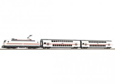 Piko 57133 Start-Set BR 146 mit 2 IC Doppelstockwagen H0 Fabrikneu