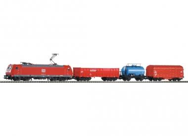 Piko 59004 Startset SmartControl® light Güterzug BR 185 + 3 Wagen H0 Farbrikneu