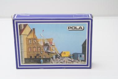 Pola 162 Stadthaus im Abbruch in H0 Bausatz