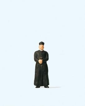 Preiser 28076 Geistlicher mit Soutane in H0 Neuware