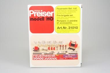 Preiser 31010 Feuerwehr-Set in H0 in Originalverpackung