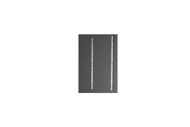Train Safe PSA-48 Profilstab 1 Paar aus Aluminium Länge 480 mm NEUWARE