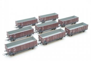 Piko interessante Sammlung Güterwagen in H0