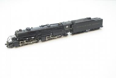 Rivarossi 1238 Dampflok Big Boy Norfolk and Western H0 AC Funktion geprüft OVP
