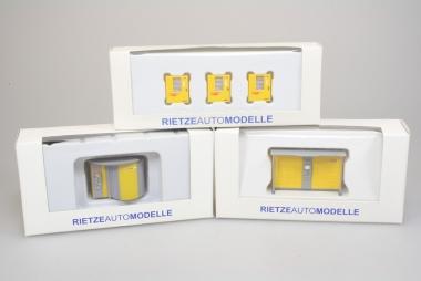 Rietze 70208 70217 70218 Packstationen und Paketbox in H0 / 1:87