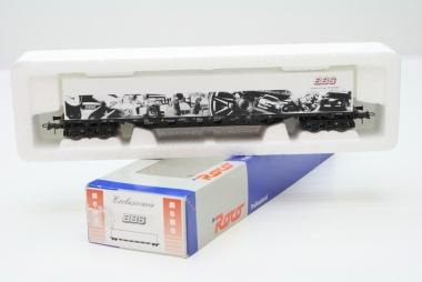 Roco Containerwagen BBS Exklusivmodell unbespielt in Originalverpackung