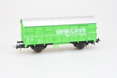 Roco gedeckter Güterwagen Breuer Spedition AC unbespielt in Originalverpackung