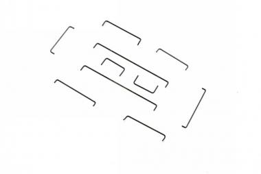 Roco 113207 Teilesatz Griffstangen H0 Neuware