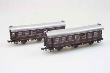 Roco 2250 A 2x Umbauwagen der DB in N in Originalverpackung